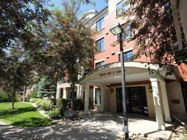 202 9815 96A Street, Edmonton, AB T6A 4A3 (#E4117653) :: The Foundry Real Estate Company