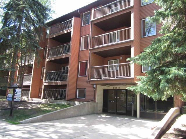 402 10514 92 Street, Edmonton, AB T5H 1T8 (#E4118856) :: The Foundry Real Estate Company