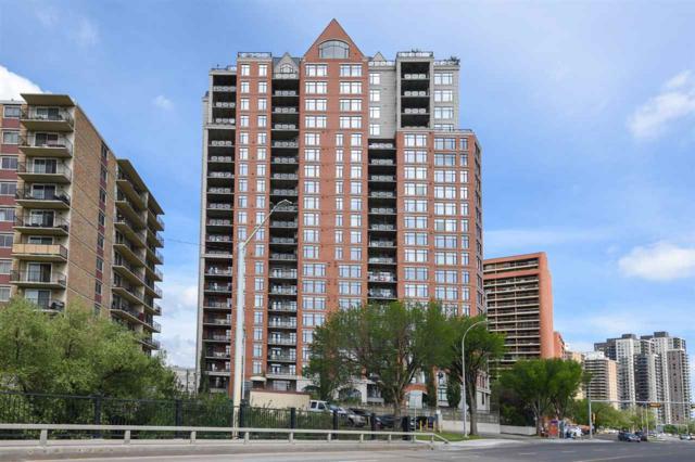 1003 9020 Jasper Avenue, Edmonton, AB T5H 3S8 (#E4119404) :: The Foundry Real Estate Company