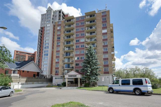 806 9028 Jasper Avenue, Edmonton, AB T5H 3Y6 (#E4121411) :: The Foundry Real Estate Company