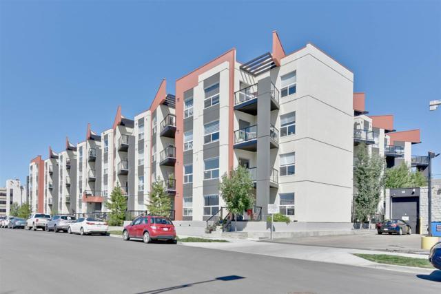 302 10523 123 Street NW, Edmonton, AB T5N 1N9 (#E4124360) :: GETJAKIE Realty Group Inc.