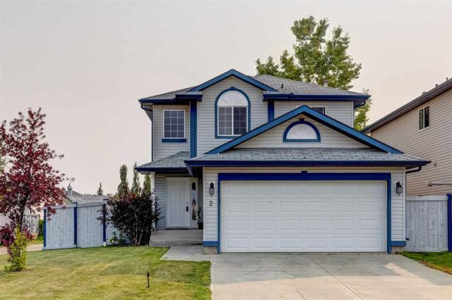 2 Heatherglen Drive N, Spruce Grove, AB T7X 4L1 (#E4124487) :: Müve Team | RE/MAX Elite
