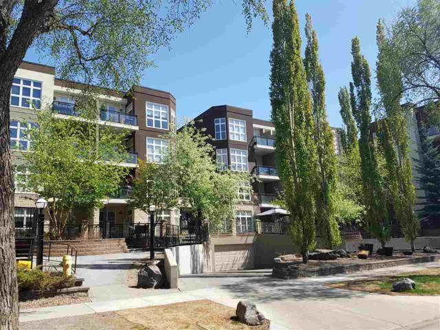 428 10407 122 Street, Edmonton, AB T5N 4B8 (#E4124867) :: GETJAKIE Realty Group Inc.