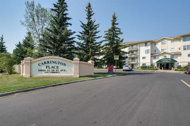 305 18020 95 Avenue, Edmonton, AB T5T 6B2 (#E4124904) :: The Foundry Real Estate Company