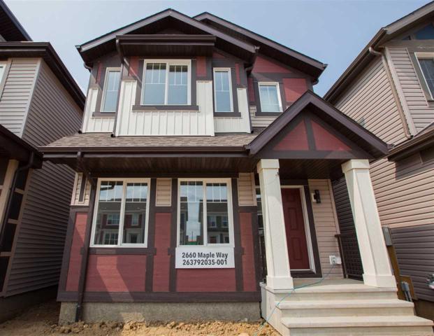 2660 Maple Way, Edmonton, AB T6T 2G2 (#E4125106) :: The Foundry Real Estate Company