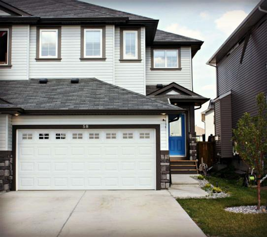 58 Woodbridge Link, Fort Saskatchewan, AB T8L 0H8 (#E4125666) :: The Foundry Real Estate Company