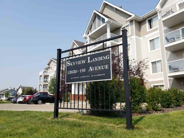 402 13830 150 Avenue, Edmonton, AB T6V 1X2 (#E4125956) :: The Foundry Real Estate Company