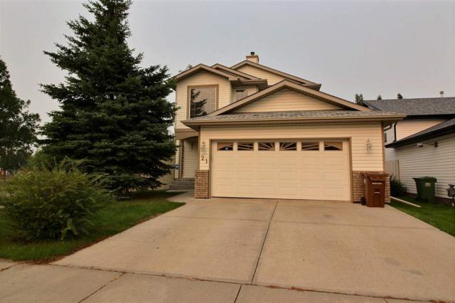 21 Holly Place, St. Albert, AB T8N 6W7 (#E4126856) :: The Foundry Real Estate Company