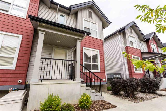 28 6075 Schonsee Way, Edmonton, AB T5Z 0H4 (#E4127393) :: The Foundry Real Estate Company
