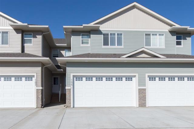 107 300 Awentia Drive, Leduc, AB T9E 2X2 (#E4128152) :: The Foundry Real Estate Company