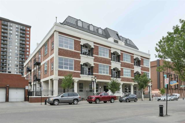 201 10330 104 Street, Edmonton, AB T5J 1C2 (#E4129264) :: The Foundry Real Estate Company