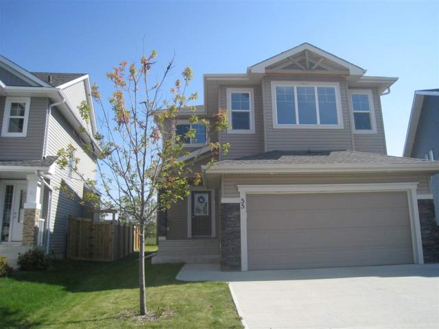 55 Meadowview Landing, Spruce Grove, AB T7X 0N7 (#E4129430) :: The Foundry Real Estate Company