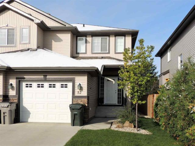 52 South Creek Wynd, Stony Plain, AB T7Z 0E1 (#E4129498) :: The Foundry Real Estate Company