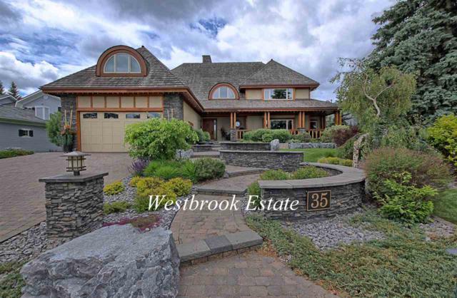 35 Westbrook Drive, Edmonton, AB T6J 2C8 (#E4129648) :: The Foundry Real Estate Company