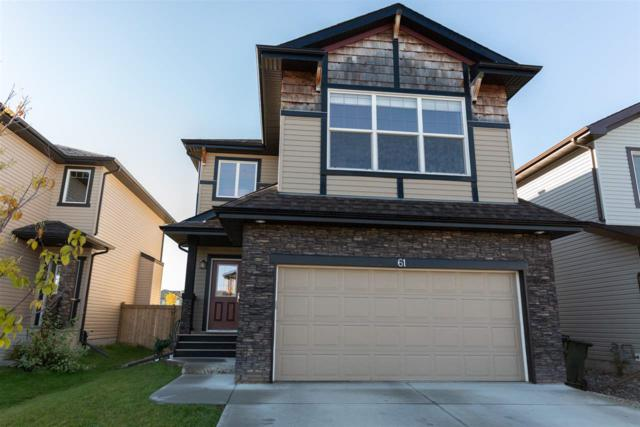 61 Meadowview Landing, Spruce Grove, AB T7X 0N7 (#E4131198) :: Müve Team | RE/MAX Elite