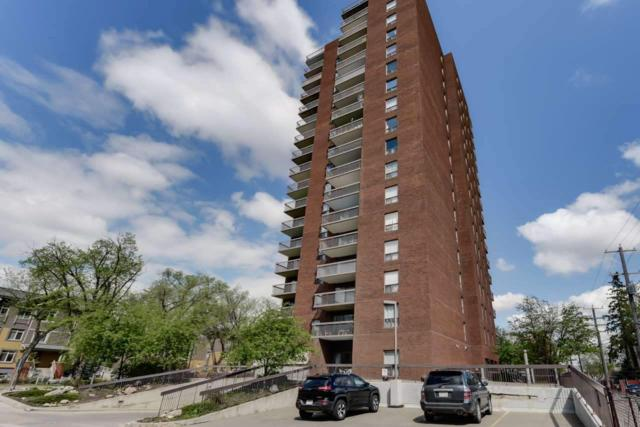 1102 11027 87 Avenue, Edmonton, AB T6G 2P9 (#E4131519) :: GETJAKIE Realty Group Inc.