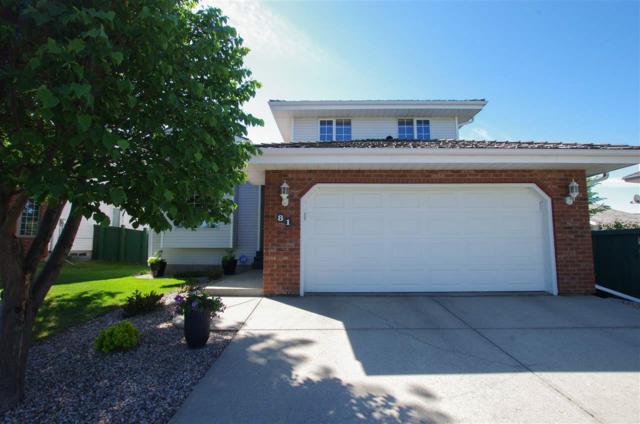 81 Blackburn Drive W, Edmonton, AB T6W 1B1 (#E4131898) :: The Foundry Real Estate Company