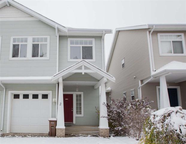 #2 200 Erin Ridge Drive, St. Albert, AB T8N 7E2 (#E4132257) :: The Foundry Real Estate Company