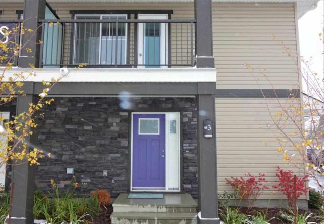 3 12815 Cumberland Road, Edmonton, AB T6V 0M2 (#E4132714) :: The Foundry Real Estate Company