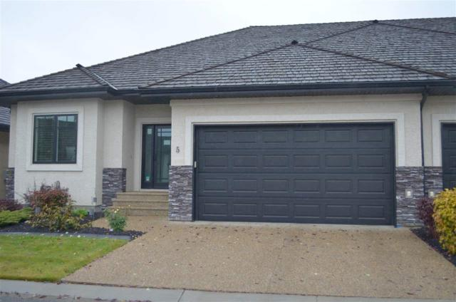 5 4058 Mactaggart Drive NW, Edmonton, AB T6R 0R4 (#E4132725) :: The Foundry Real Estate Company