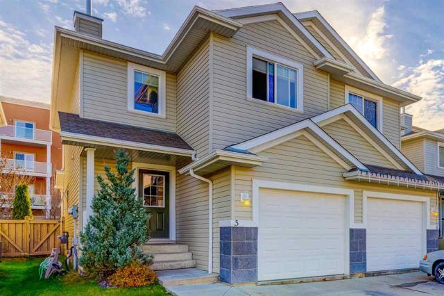5 287 Macewan Road, Edmonton, AB T6W 1T4 (#E4133919) :: The Foundry Real Estate Company