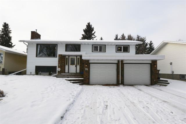 76 Fleetwood Crescent, St. Albert, AB T8N 1R5 (#E4135352) :: The Foundry Real Estate Company