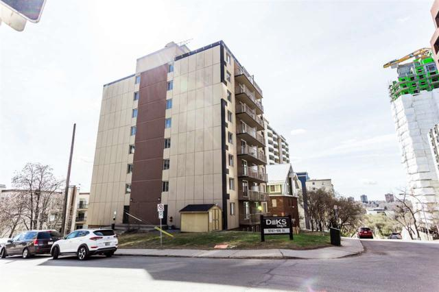 604 9747 106 Street, Edmonton, AB T5K 1B4 (#E4135579) :: The Foundry Real Estate Company