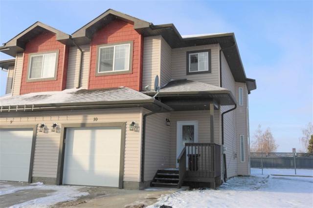10 16004 54 Street, Edmonton, AB T5Y 0R1 (#E4135695) :: The Foundry Real Estate Company