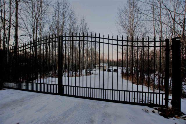 39 54422 Range Road 13, Rural Lac Ste. Anne County, AB T0E 1V0 (#E4136478) :: The Foundry Real Estate Company