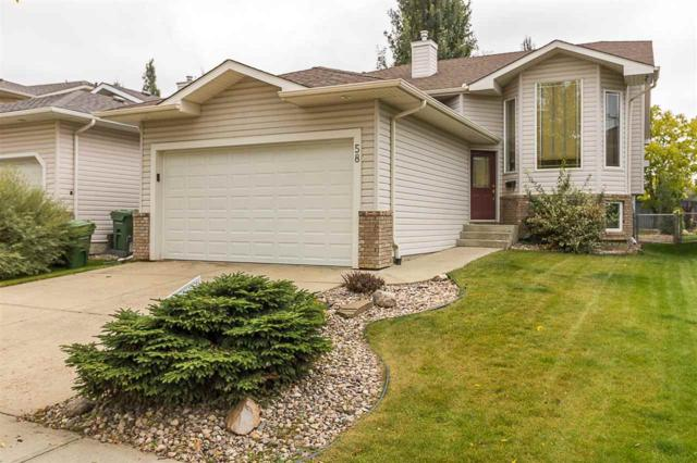 58 Oakmont Drive, St. Albert, AB T8N 6M2 (#E4136971) :: The Foundry Real Estate Company