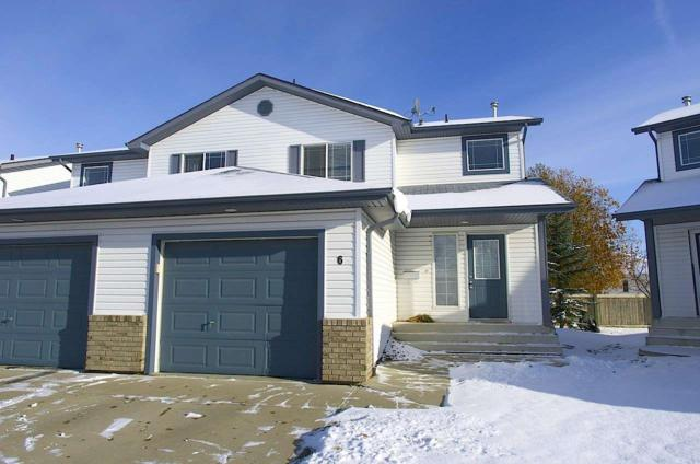 6 3 Grove Meadow Drive, Spruce Grove, AB T7X 4L9 (#E4138704) :: The Foundry Real Estate Company
