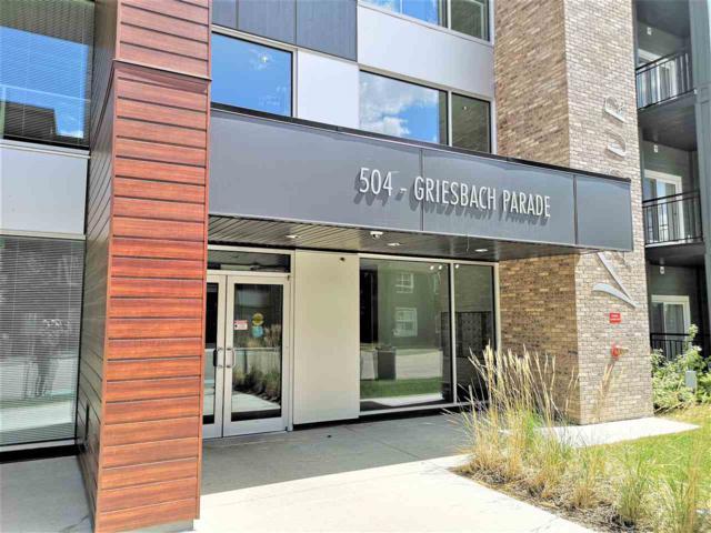 105 504 Griesbach Parade, Edmonton, AB T5E 6V9 (#E4139177) :: The Foundry Real Estate Company