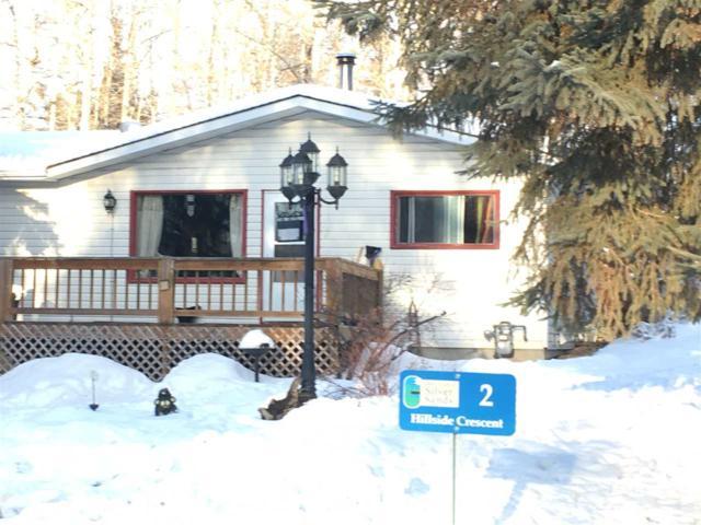 2 Hillside Crescent, Rural Lac Ste. Anne County, AB T0E 0V0 (#E4140732) :: The Foundry Real Estate Company
