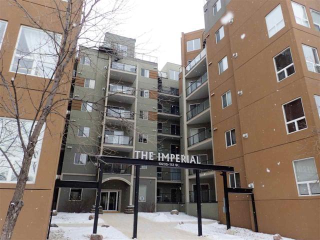 617 10235 112 Street, Edmonton, AB T5K 1M7 (#E4140883) :: The Foundry Real Estate Company