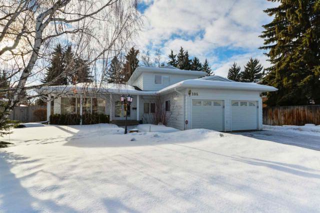 106 Fairway Drive, Edmonton, AB T6J 2C5 (#E4141494) :: The Foundry Real Estate Company