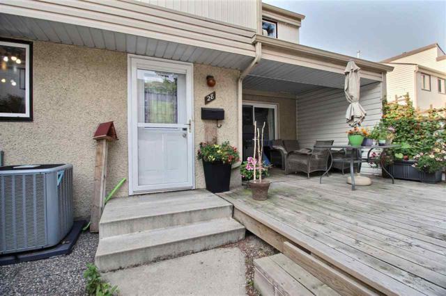 28 Woodvale Village, Edmonton, AB T6L 1W4 (#E4141603) :: The Foundry Real Estate Company