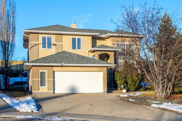 552 Butterworth Way, Edmonton, AB T6R 2N4 (#E4144736) :: Müve Team | RE/MAX Elite