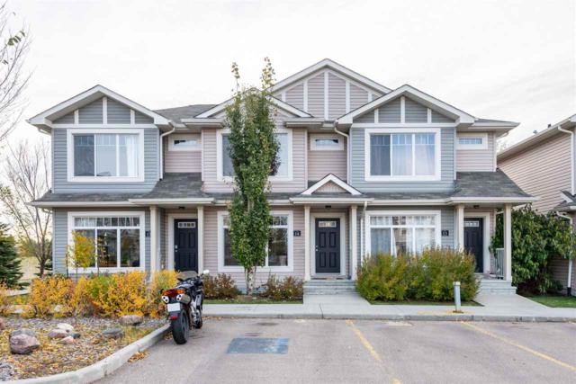 14 6032 38 Avenue, Edmonton, AB T6L 0A4 (#E4145278) :: The Foundry Real Estate Company