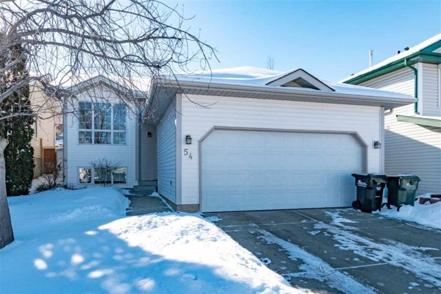 54 Blueberry Crescent, Sherwood Park, AB T8H 1P6 (#E4145429) :: The Foundry Real Estate Company