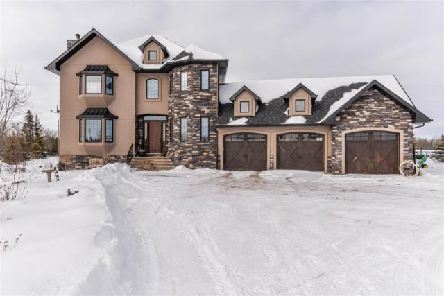 2-26510 Twp Rd 511, Rural Parkland County, AB T7Y 1G2 (#E4145449) :: The Foundry Real Estate Company
