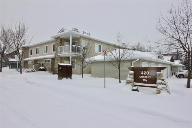 202 420 Cranberry Way, Sherwood Park, AB T8H 2M5 (#E4146539) :: The Foundry Real Estate Company