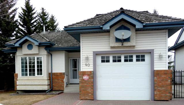 40 10 Blackburn Drive W, Edmonton, AB T6W 1C2 (#E4151157) :: Mozaic Realty Group