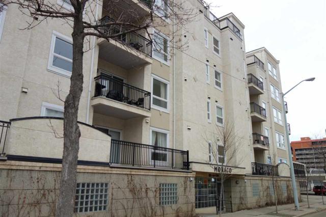 202 10707 102 Avenue, Edmonton, AB T5J 5E4 (#E4152396) :: Jenn McPhillamey | YEGPro Realty