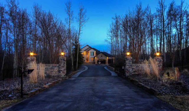 27505 Twp Rd 540, Rural Parkland County, AB T7X 3V6 (#E4152721) :: Jenn McPhillamey   YEGPro Realty