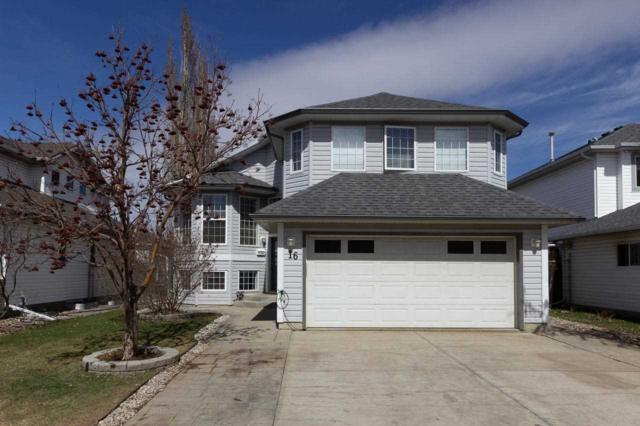 16 Creekside Way, Spruce Grove, AB T7X 3Y4 (#E4153423) :: Mozaic Realty Group