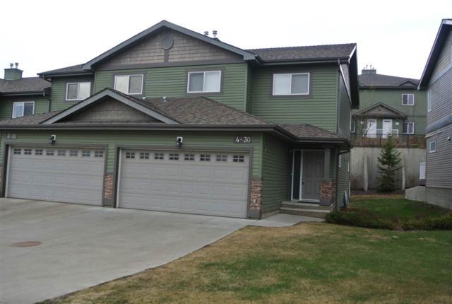 4 30 Oak Vista Drive, St. Albert, AB T8N 3T1 (#E4156041) :: The Foundry Real Estate Company