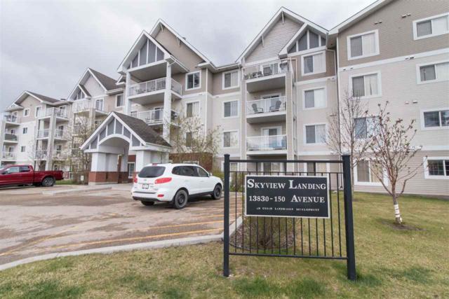 116 13830 150 Avenue, Edmonton, AB T6V 1X2 (#E4156147) :: Mozaic Realty Group