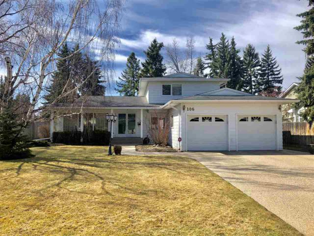106 Fairway Drive, Edmonton, AB T6J 2C5 (#E4156454) :: David St. Jean Real Estate Group