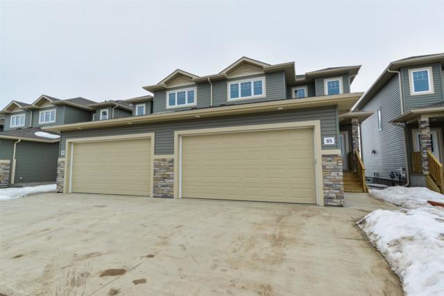 #73 8602 Southfort Boulevard, Fort Saskatchewan, AB T8L 0J4 (#E4156458) :: The Foundry Real Estate Company