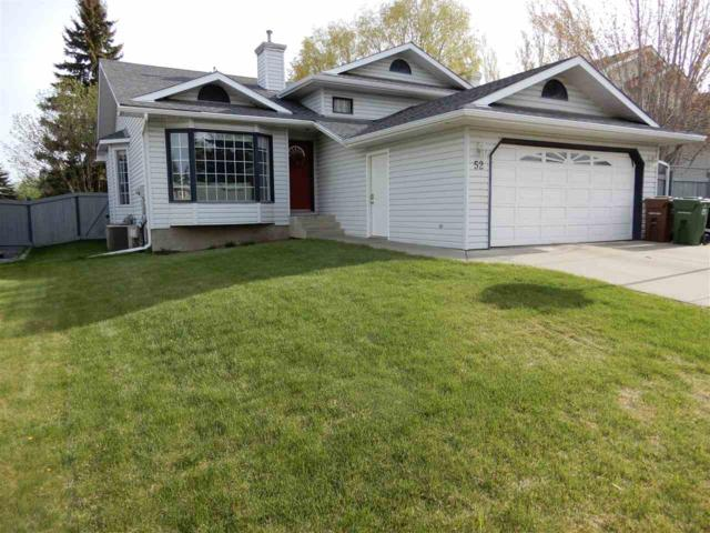 52 Holmgren Crescent, St. Albert, AB T8N 5V4 (#E4157643) :: David St. Jean Real Estate Group